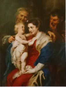 『聖アンナのいる聖家族』 ペーテル・パウル・ルーベンス