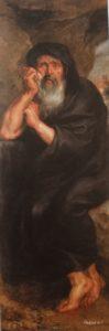 ペーテル・パウル・ルーベンスの工房『泣く哲学者ヘラクレイトス』