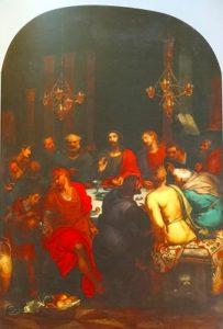 ルーベンスにイタリア行きを勧めたオットー・ヴァン・ヴェーン『最後の晩餐』(1592年)