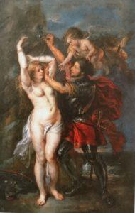 ペーテル・パウル・ルーベンス、ヤーコブ・ヨルダーンス『アンドロメダを救うペルセウス』