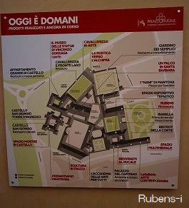 ドゥカーレ宮殿案内図