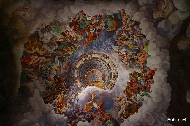 テ美術館「巨人の間」天井