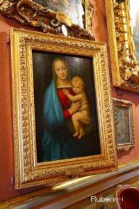 ラファエロ『聖母子像』