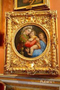 聖母子と子どもの洗礼者ヨハネ