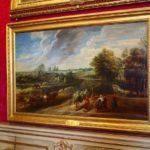 ルーベンス『畑から戻る農夫』パラディーナ美術館