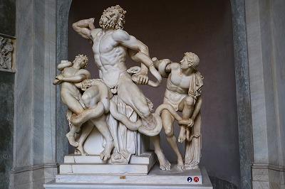 『ラオコーン』像 ヴァチカン ピオ・クレメンティーノ美術館
