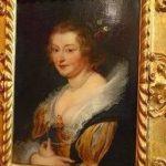 ルーベンス「女性の肖像」パラディーナ美術館