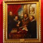 ルーベンス「4人の哲学者」パラディ―ナ美術館