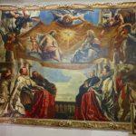 ルーベンス「聖三位一体を礼拝するゴンザーガ家の人々」ドゥ・カーレ美術館(マントヴァ)