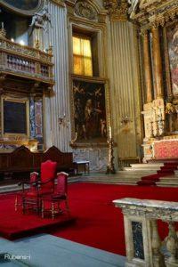 ルーベンス『聖グレゴリウス、聖マスルス、聖パピアヌス』サンタ・マリア・イン・ヴァリチェッラ教会