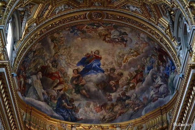 キエザ・ヌォーヴァ主祭壇天井画