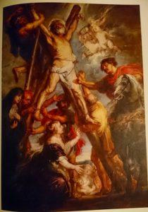 「ルーベンス展ーバロックの誕生」図録より ルーベンス「聖アンデレの殉教」