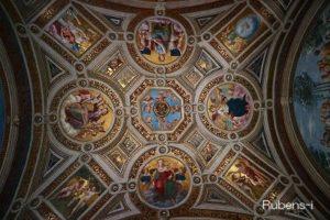 ラファエロの間の天井