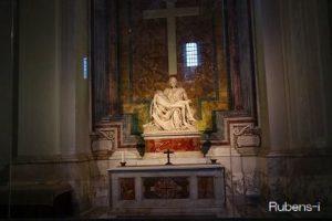 サン・ピエトロ大聖堂内 ミケランジェロ『ピエタ』