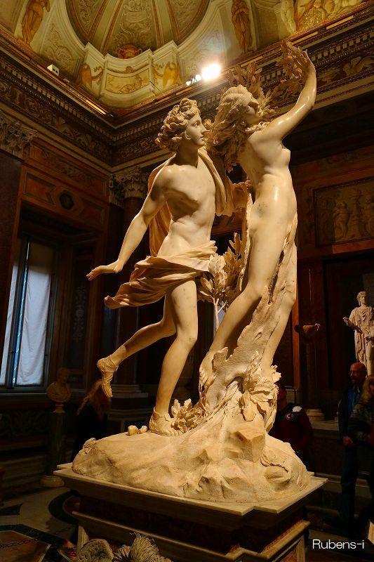 ベルニーニ「アポロンとダフネ」ボルゲーゼ美術館