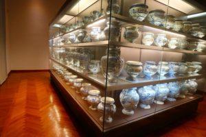 トゥルシ宮で展示されている壺