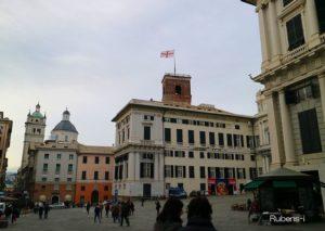 海賊にさえ恐れられたジェノヴァの国旗