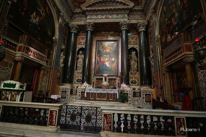 ルーベンス『キリストの割礼』イエズス教会(ジョノヴァ)