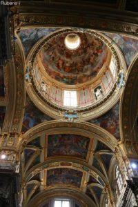 イエズス教会の天井