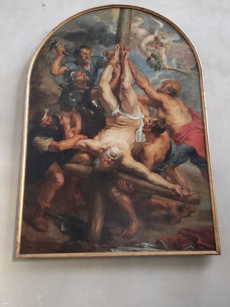 P.P.Rubens 聖ペテロの殉教図
