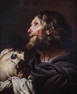 Heilger Hieronymus(Sigerlandmuseum in OberenShlossサイトより)