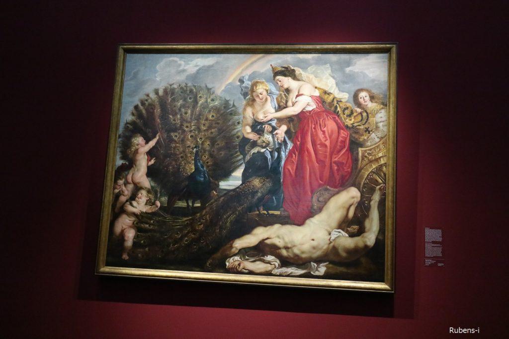 ルーベンス「ユノとアルゴス」1611年