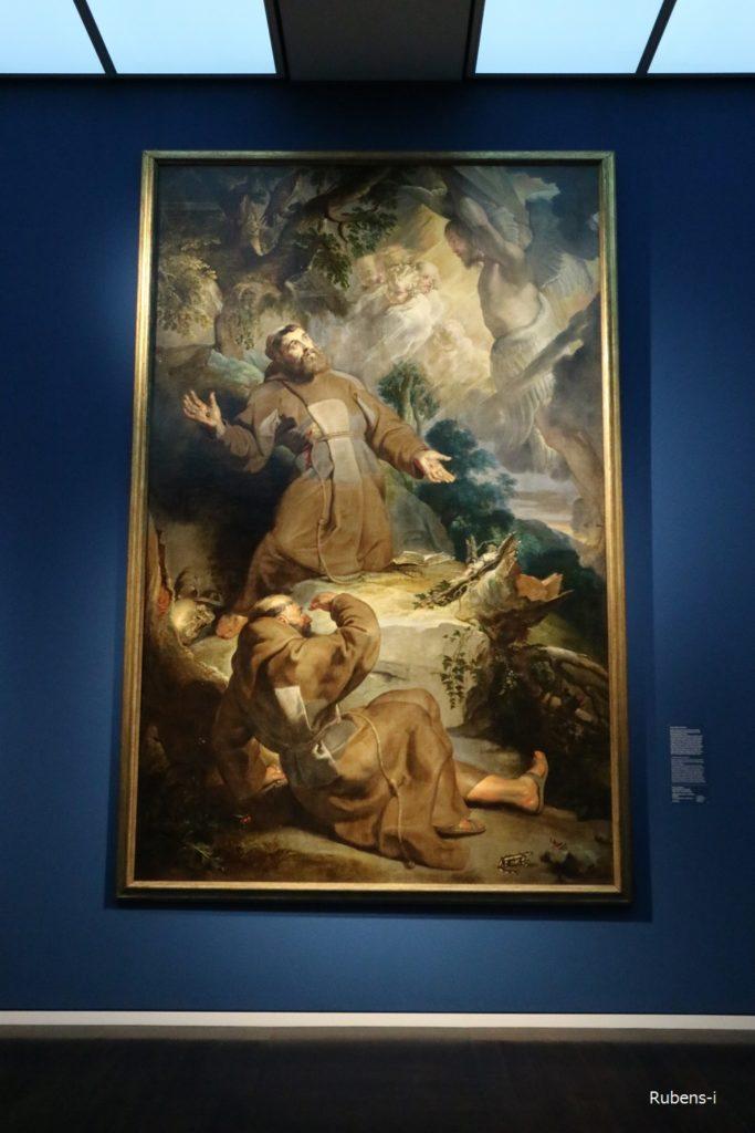 ルーベンス「聖フランシスのスチグマータ(聖痕)」1616年