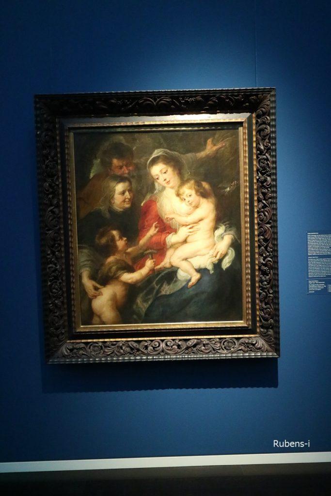ルーベンス「聖家族」1634年