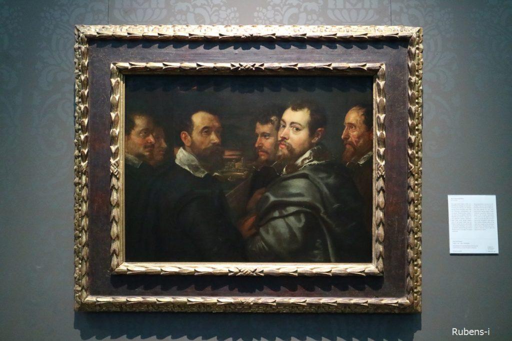 ルーベンス「マントヴァの仲間たち」