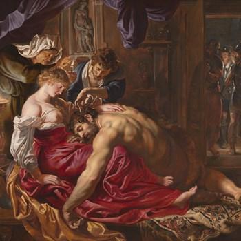 ルーベンス『サムソンとデリラ』ロンドン ナショナルギャラリー 1609年