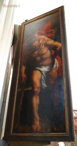 キリスト降架 背面