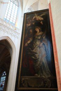 キリスト昇架 背面