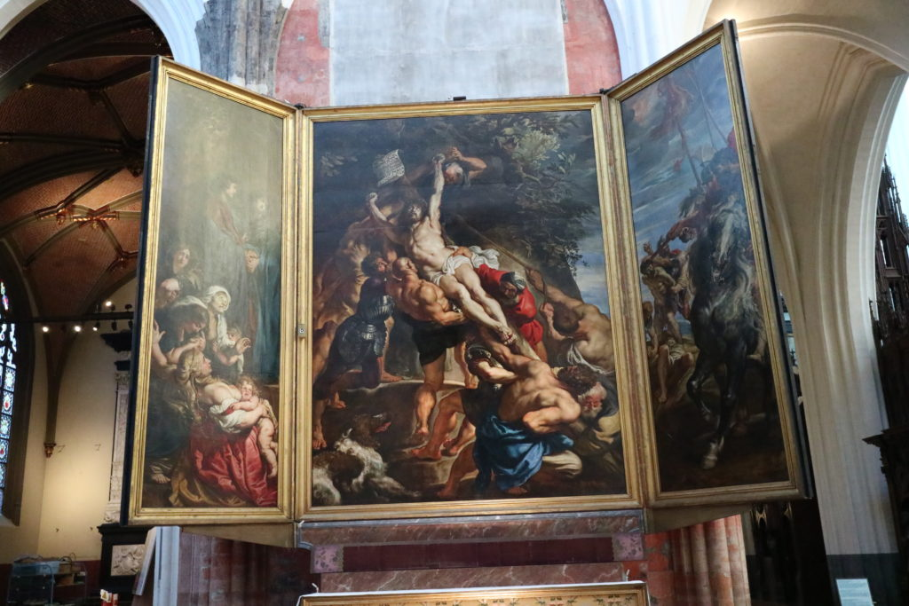 キリスト昇架 1610-11年 アントウェルペン聖母大聖堂