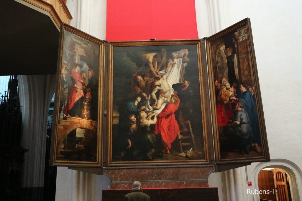 キリスト降架 1611-14年 アントウェルペン聖母大聖堂