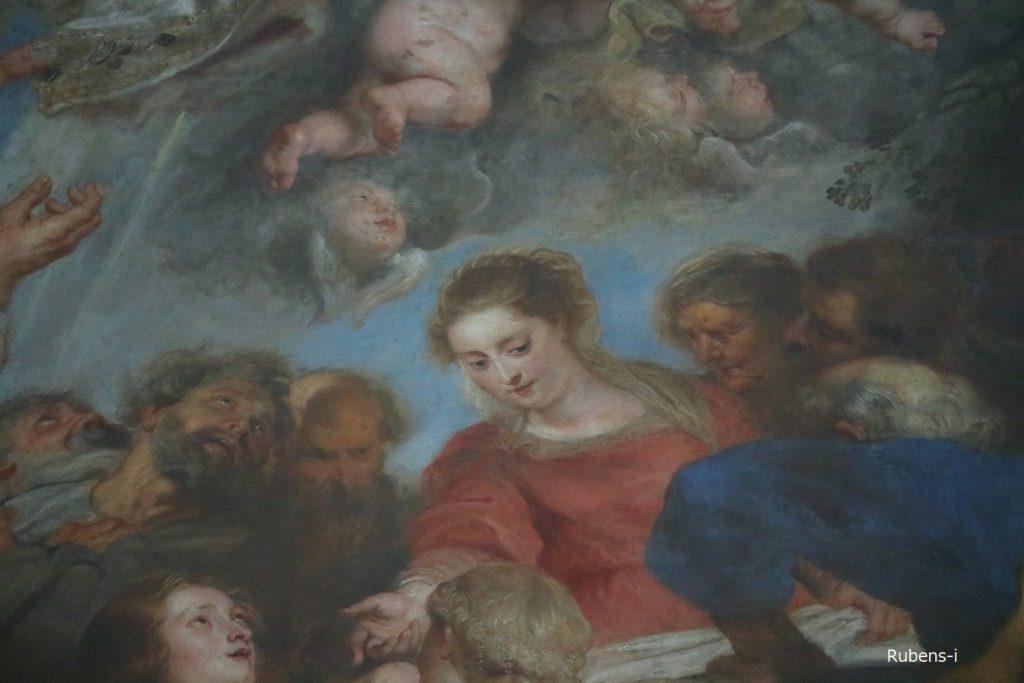 聖母被昇天に描かれたイザベラ